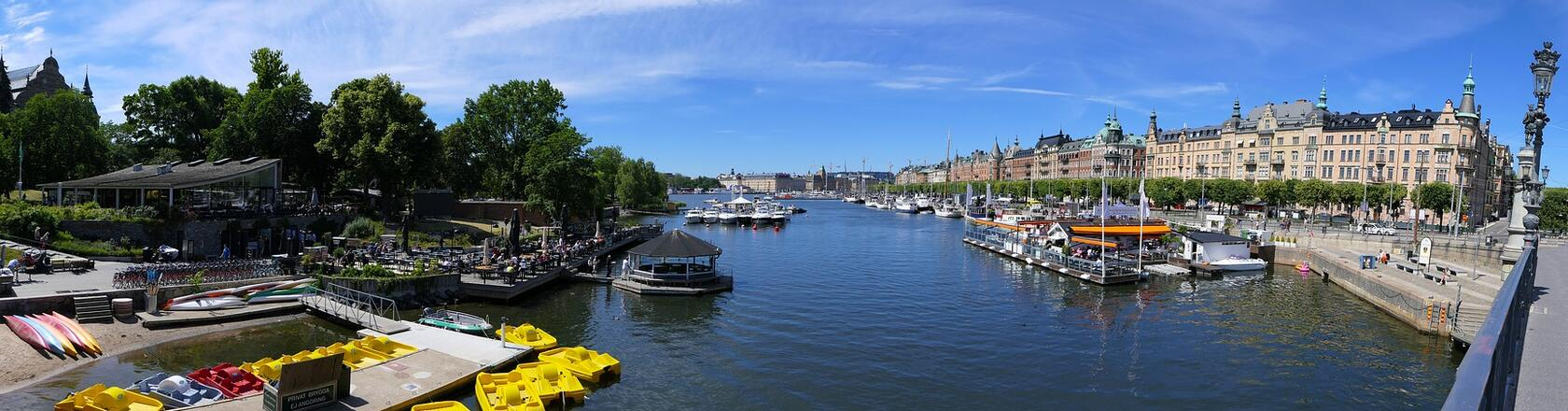 Stockholm in Sweden - Rent a holiday home with DanCenter